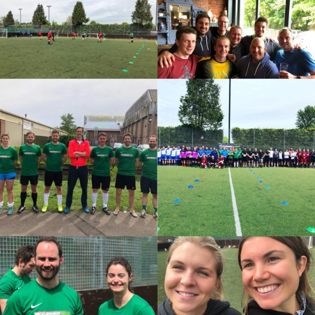 Procurement events: Football charity event