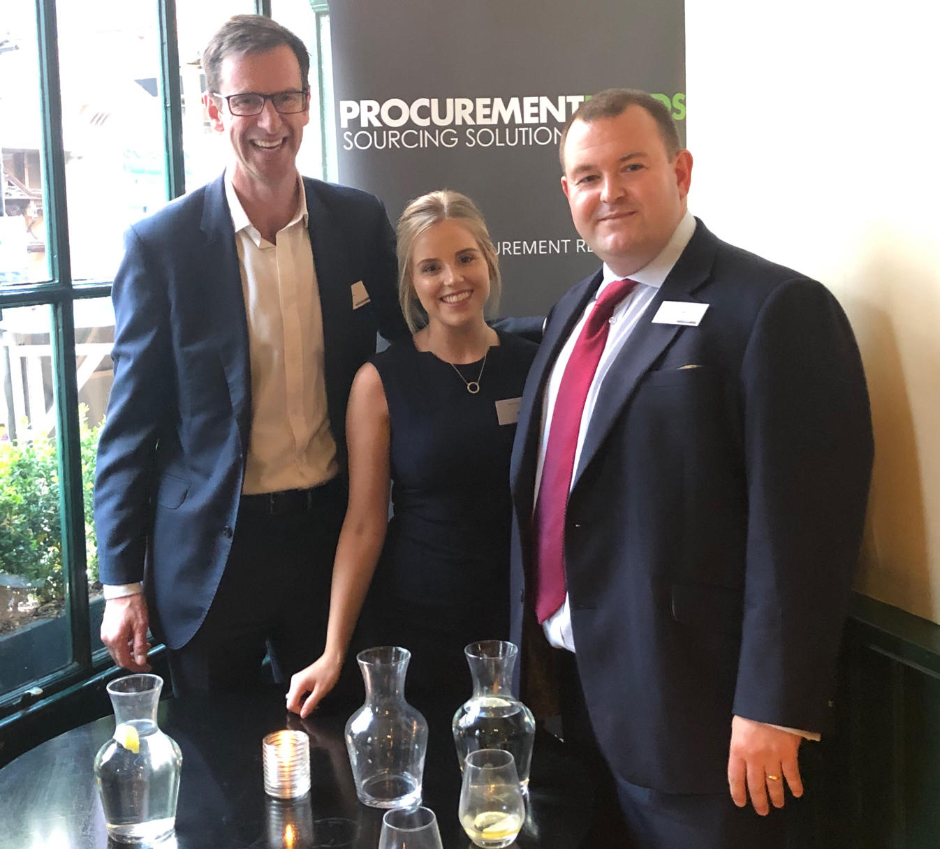 Procurement events: leadership networking