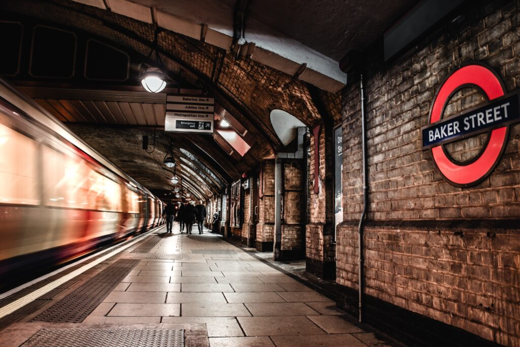 London Procurement tips. Picture of London underground station