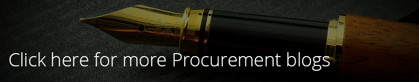 Image linking to other Procurement blogs like the blog about the Sustainable Procurement Pledge