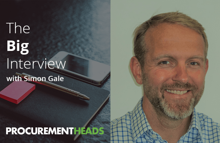 Image linking to other Procurement career blogs like this one with Simon Gale