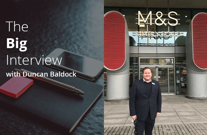 Image of Duncan Baldock from Marks and Spencer