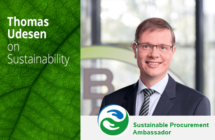 Image of Thomas Udesen Co-Founder of the Sustainable Procurement Pledge