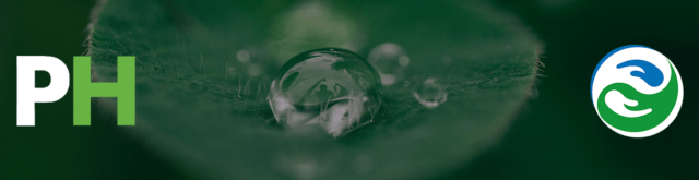 Image of a raindrop on the sustainable procurement page