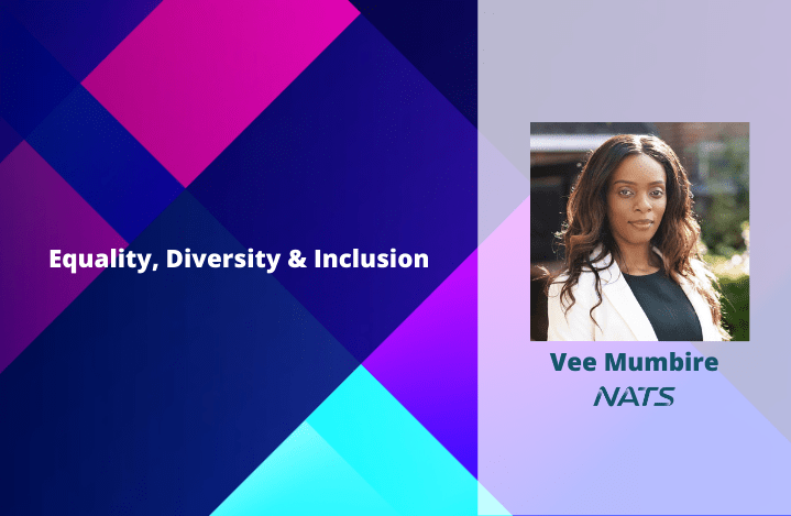 Image of Vee Mumbire of NATS on the equality, diversity and inclusion blog