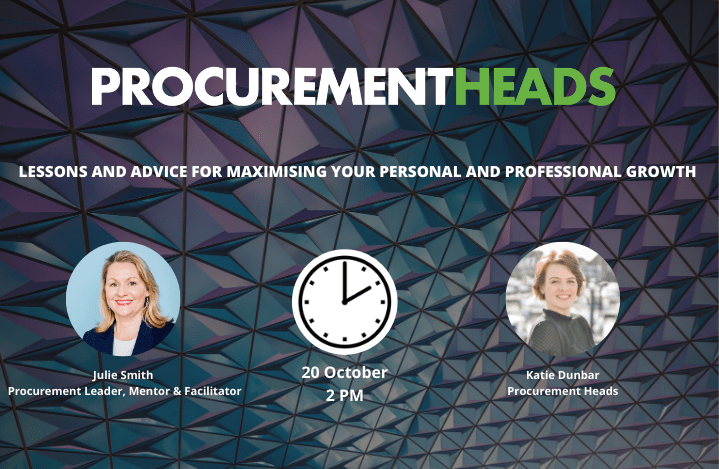 Image of Julie Smith and Katie Dunbar for the upcoming Procurement event