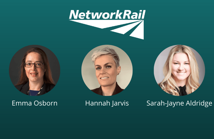 Image of the Network Rail team